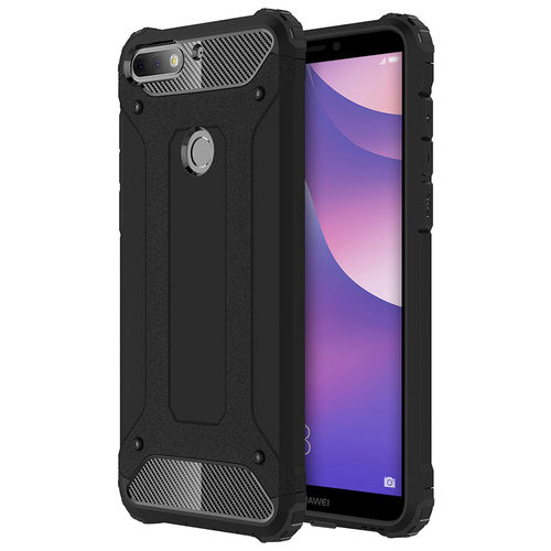 Military Defender Shockproof Case for Huawei Nova 2 Lite - Black